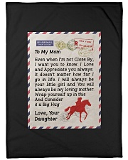 "Gift For Mom Large Fleece Blanket - 60"" x 80"" front"