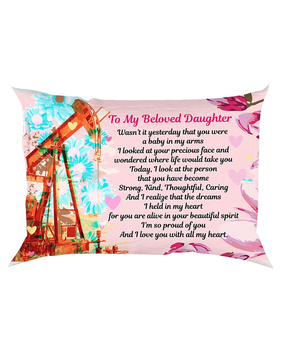 GIFT FOR AN OILFIELD MAN'S DAUGHTER - PREMIUM Rectangular Pillowcase