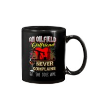 OILFIELDMAN'S  GIRLFRIEND LOVES WINE Mug thumbnail