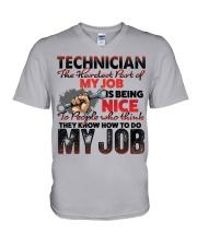 Technician V-Neck T-Shirt tile