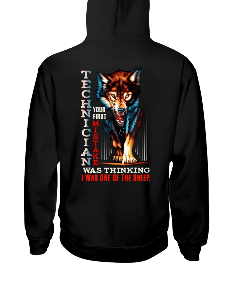 TECHNICIAN - I'M THE WOLF Hooded Sweatshirt