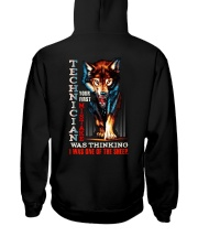 TECHNICIAN - I'M THE WOLF Hooded Sweatshirt tile