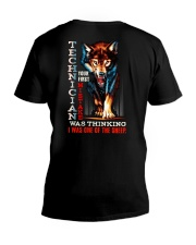 TECHNICIAN - I'M THE WOLF V-Neck T-Shirt tile