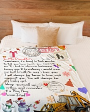 "HEO's  Daughter Premium Large Fleece Blanket - 60"" x 80"" aos-coral-fleece-blanket-60x80-lifestyle-front-02"
