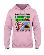 Grumpy Old Farmer's Wife Hooded Sweatshirt front