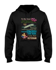 VETERAN'S WIFE Hooded Sweatshirt thumbnail