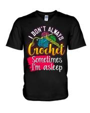 CROCHETING - PAST BUYERS EXCLUSIVE V-Neck T-Shirt thumbnail
