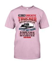 Trucker's Girlfriend Classic T-Shirt front