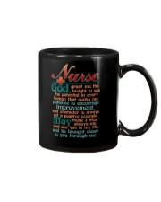 NURSE  GRANT ME GOD Mug thumbnail