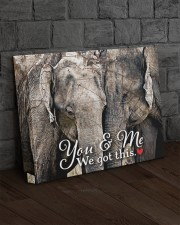 HUSBAND - Premium 14x11 Gallery Wrapped Canvas Prints aos-canvas-pgw-14x11-lifestyle-front-11
