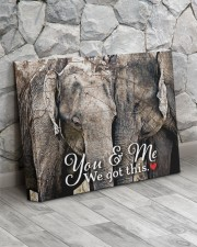 HUSBAND - Premium 14x11 Gallery Wrapped Canvas Prints aos-canvas-pgw-14x11-lifestyle-front-13