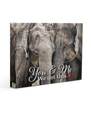 HUSBAND - Premium 14x11 Gallery Wrapped Canvas Prints front