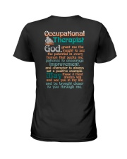 AN OCCUPATIONAL THERAPIST'S PRAYER Ladies T-Shirt thumbnail