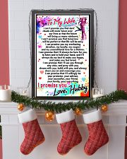 GIFT FOR WIFE - PREMIUM 11x17 Poster lifestyle-holiday-poster-4