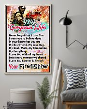 FIREFIGHTER'S WIFE - PREMIUM 11x17 Poster lifestyle-poster-1