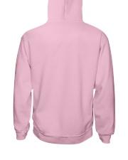 Quilting Hooded Sweatshirt back
