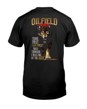 OILFIELD MAN'S  WIFE  - I'M THE WOLF   Classic T-Shirt thumbnail