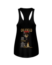 OILFIELD MAN'S  WIFE  - I'M THE WOLF   Ladies Flowy Tank thumbnail