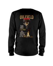 OILFIELD MAN'S  WIFE  - I'M THE WOLF   Long Sleeve Tee thumbnail