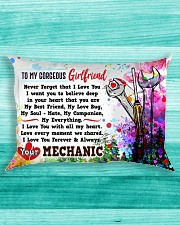 GIFT FOR MECHANIC'S GIRLFRIEND- PREMIUM Rectangular Pillowcase aos-pillow-rectangle-front-lifestyle-5