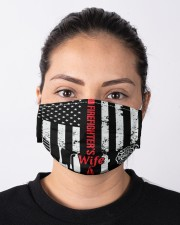 FIREFIGHTER'S WIFE Cloth face mask aos-face-mask-lifestyle-01