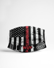 FIREFIGHTER'S WIFE Cloth face mask aos-face-mask-lifestyle-22