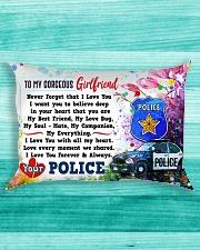 GIFT FOR A POLICE GIRLFRIEND - PREMIUM Rectangular Pillowcase aos-pillow-rectangle-front-lifestyle-5