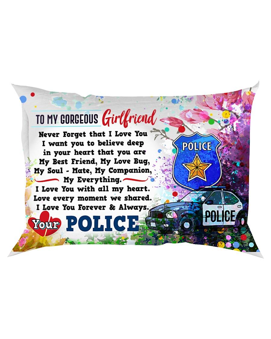 GIFT FOR A POLICE GIRLFRIEND - PREMIUM Rectangular Pillowcase
