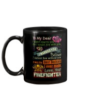 FIREFIGHTER'S WIFE Mug back