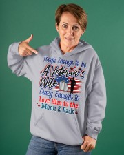Veteran's Wife Hooded Sweatshirt apparel-hooded-sweatshirt-lifestyle-front-88