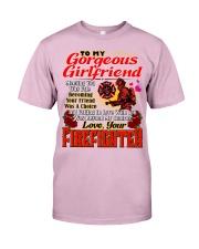 Firefighter's Girlfriend Classic T-Shirt tile