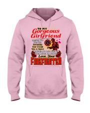 Firefighter's Girlfriend Hooded Sweatshirt front
