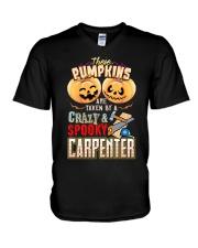 CARPENTER'S GIRL V-Neck T-Shirt thumbnail