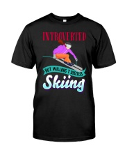 SKIING Classic T-Shirt front