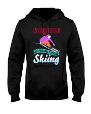 SKIING Hooded Sweatshirt tile