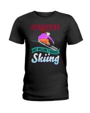 SKIING Ladies T-Shirt tile