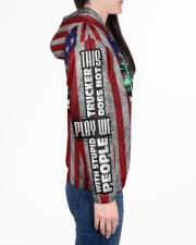 TRUCKER Women's All Over Print Hoodie aos-complex-women-hoodie-lifestyle-right-01