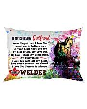 GIFT FOR A WELDER'S  GIRLFRIEND- PREMIUM Rectangular Pillowcase front