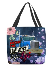Trucker's Wife All-over Tote back