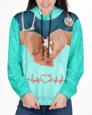 Nurse  Women's All Over Print Hoodie aos-complex-women-hoodie-lifestyle-front-03
