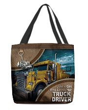 TRUCKER'S GIRL All-over Tote front