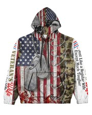 qq Women's All Over Print Hoodie front