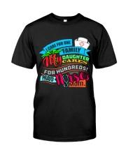 PROUD NURSE'S MOM Classic T-Shirt front