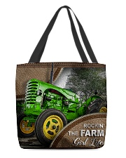 FARMER'S GIRL All-over Tote front