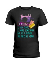 SEWING  - PAST BUYERS EXCLUSIVE Ladies T-Shirt thumbnail
