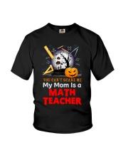 Math Teacher's Kid Youth T-Shirt front