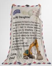 "HEO'S Daughter  Premium Large Fleece Blanket - 60"" x 80"" aos-coral-fleece-blanket-60x80-lifestyle-front-10"
