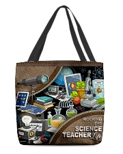 SCIENCE TEACHER All-over Tote front