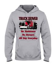 TRUCKER Hooded Sweatshirt front