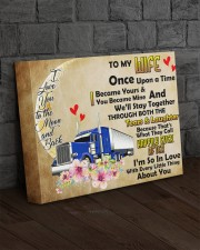 TRUCKER'S WIFE  - Premium 14x11 Gallery Wrapped Canvas Prints aos-canvas-pgw-14x11-lifestyle-front-11